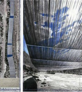 Incredible Environmental Art Impact: Christo and 'Over the River' in CO
