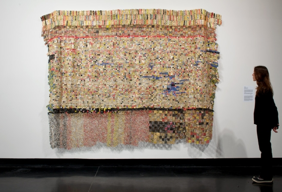 El Anatsui Some Still Come Back 2005