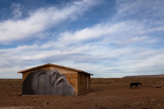 Powerful Street Art on the Reservation