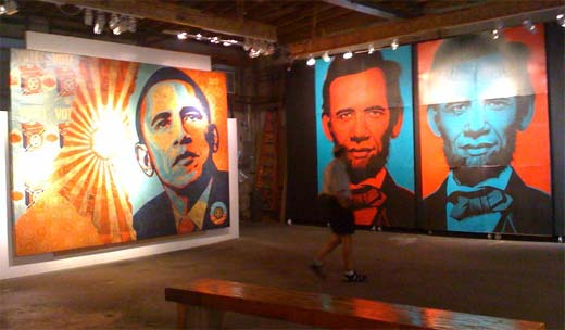 obama art gallery show