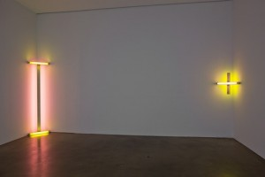 Art Dan Flavin | Amazing Four Early Works at Paula Cooper Gallery