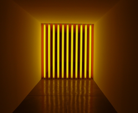 Dan Flavin untitled to Barry Mike Chuck and Leonard 2
