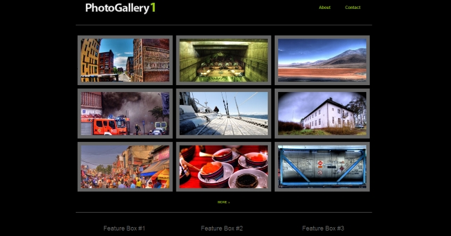 PhotoGallery Shutter Themes